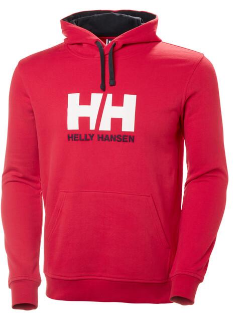 Helly Hansen Logo - Midlayer Hombre - rojo